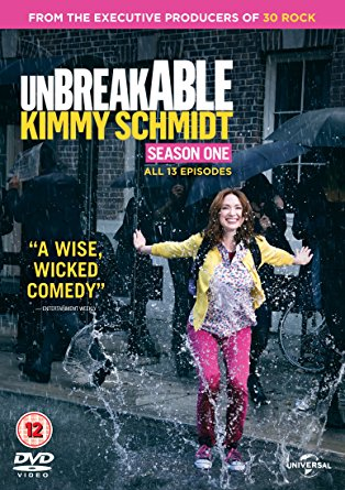 dvd, unbreakable kimmy schmidt, relationships, comedy, telling your own story