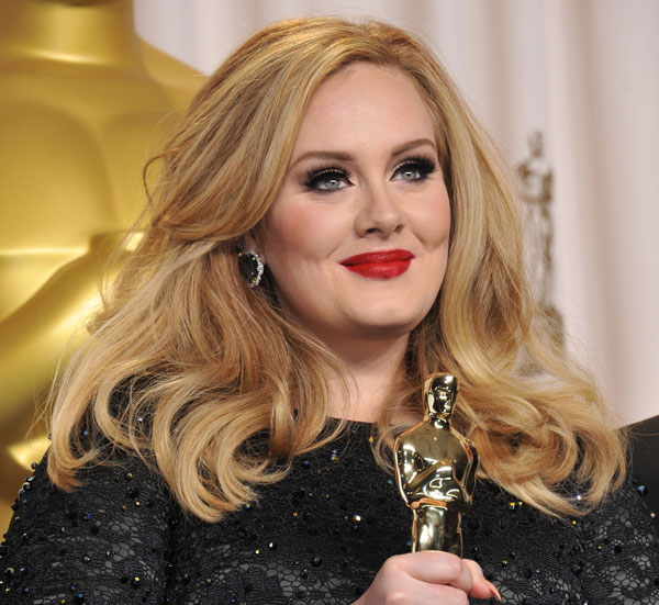 Adele's self confidence and authenticity