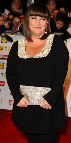 Dawn French comedy actor and hilarious woman dealing with weight loss and health concerns