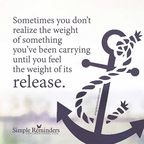 dealing with menopause symptoms with this quote from simple reminders