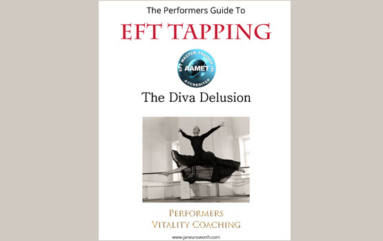 EFT Tapping Guide For Performers on The Diva Delusion Weight Loss Programme cover