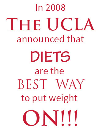 the ucla announcement re dieting