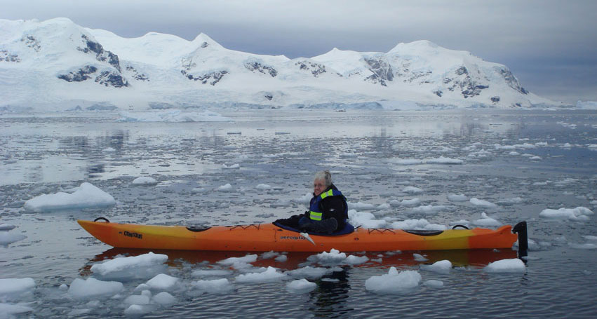 jane unsworth, kayak, antarctica