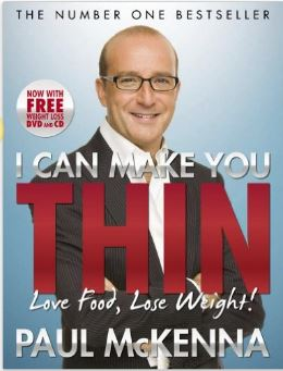 Paul McKenna I can make you think weight loss book