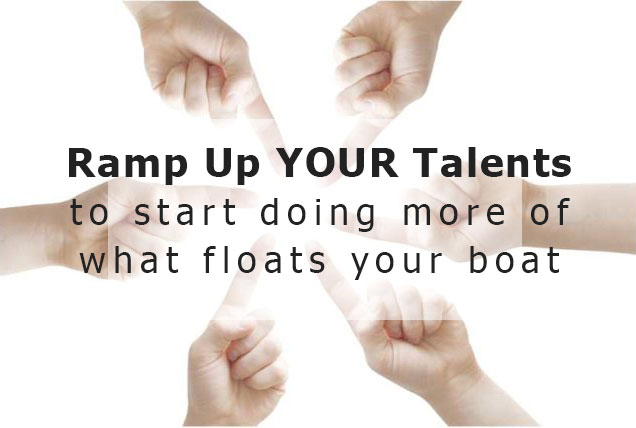 ramp up your talents