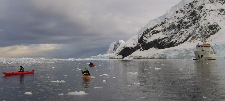 Jane Unsworth ju intuitive in Antarctica kayaking
